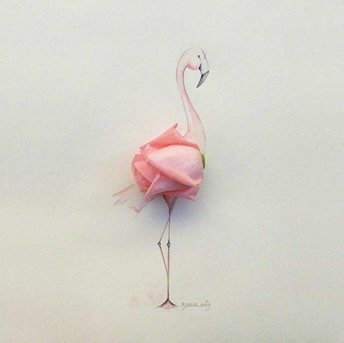 jesuso-ortiz-art-illustration-flamingo-680x678