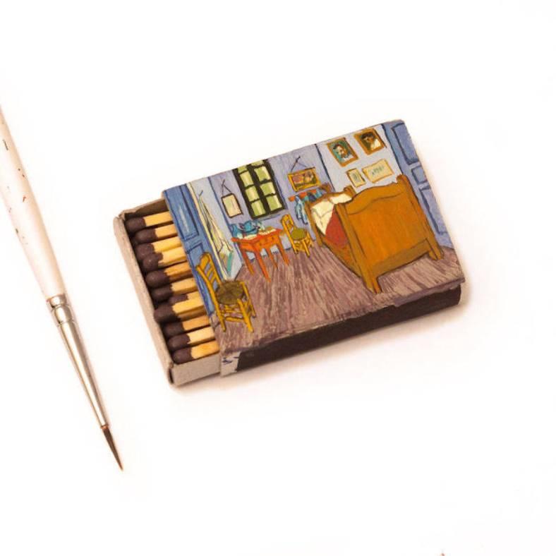vangoghpaintingsonmatchboxes-7-900x900