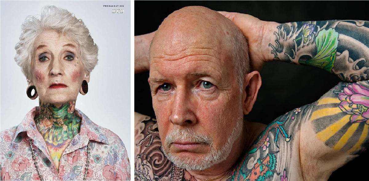 Tattooed Seniors: What Will Your Ink Look Like When You're 60?