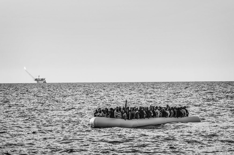 Migrant Search and Rescue Operations by MSF Bourbon Argos in the Mediterranean Sea