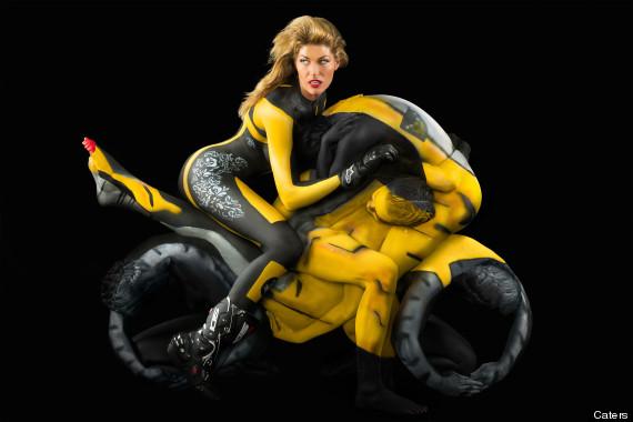 motorbike-bodyart