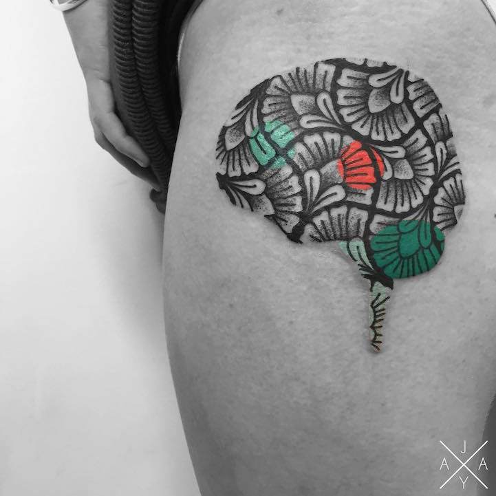 lovely-black-tattoos-with-geometrical-patterns-13