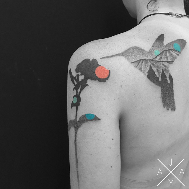 lovely-black-tattoos-with-geometrical-patterns-4